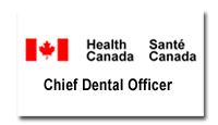 Chief Dental Officer, Health Canada logo